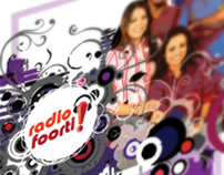 Radio Foorti - Chittagong station launch, flyer design