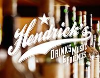 HENDRICK'S Bar