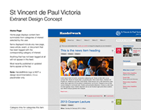 Member's extranet site design