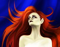 Mermaid - Digital Draw