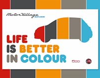 Integrated Campaign - Fiat 500 Colour Therapy