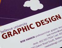 Graphic Design program business cards