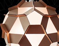 Cardboard Design / Sirius Lamp