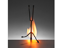 "Matchsticks, ""Homage to Alberto Giacometti"""