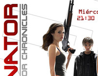 Terminator: Sara Connor Chronicles, sitio web para MX