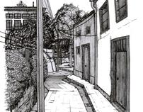 Valparaiso Illustrations