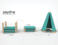 Playtime - Evolutive gamezone for kids