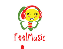 Feel Music Logo Template