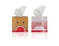 Kleenex Christmas Concept