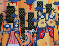 Cats + Buildings   2011