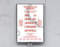 Artelier - Exhibition identity