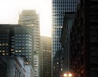 3D - Skyscraper city