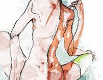 """""""After sex"""" - Illustration"""