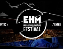 EHM Music Festival Collateral Design