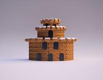 Test Super Mario Bros Castle
