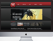 Mad Cow Films site design