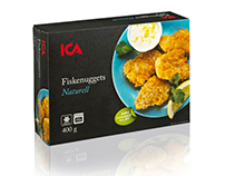 ICA Fish Nuggets Product Line