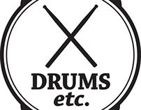Logo Redesign: Drums Etc.