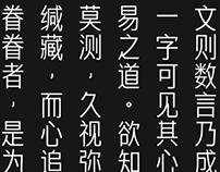 婷雅黑   汉字字体设计