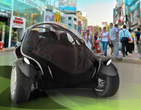 Concept city car - The Shell