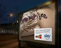 SKY TV Rebranding Campaign Italy
