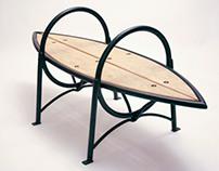 Bristol Bench (for the Steel Yard)
