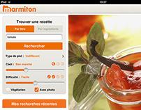 marmiton iPad v2