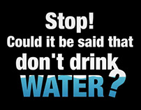 Say BYE to bottled water