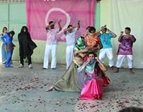 Jogos Escolares - Apresentação Índia