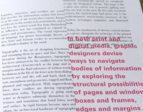 Thoughts on Typography