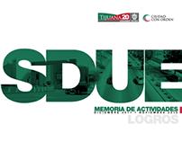 SDUE Secretaría de Desarrollo Urbano