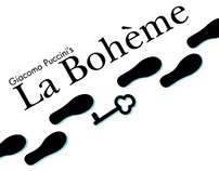 La Bohème Opera Poster