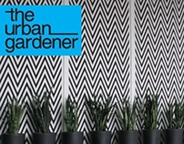 The Urban Gardener Logo & Magazine Design