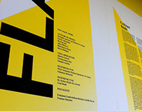 Architectur exposition for a new hospital in Lausanne