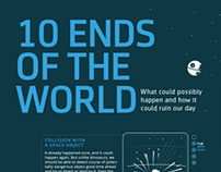 10 Ends of the World INFOGRAPHIC