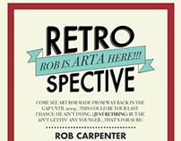 Rob Carpenter's Retrospective Poster