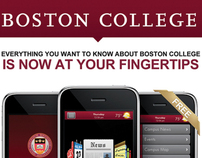 Boston College Iphone App. Advertisment