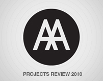AA Projects Review 2010 website