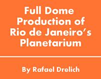 Full Dome Presetation in Rio de Janeiro Planetarium