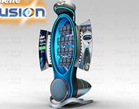 Gillette Fusion Display Stand