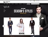 LandmarkShops.com - Frontend Design