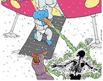 Elephants From Neptune/Murmansk concert poster