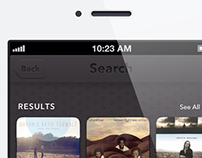 Shazam for iPhone Redesign