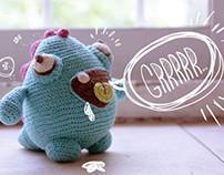 Grrrrr!: Blue Monster