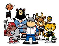 SSU大專院校體育聯賽吉祥物設計