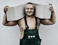 Corporate & Brand Identity - H+H International, Denmark
