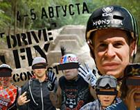 DRIVE & FLY (mtb bmx contest) promovideo.