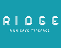 RIDGE Free Typeface