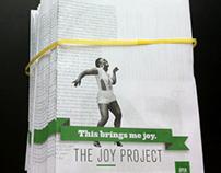 This Brings Me Joy : Newsprint Poster