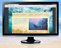 Web Design & Brand Identity: Surf Crush Shop
